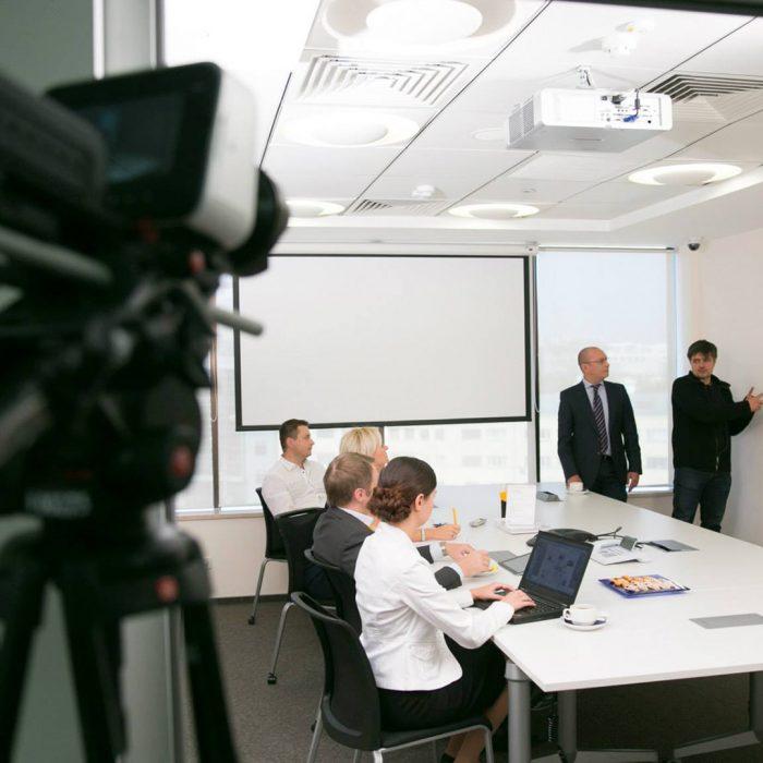 Съёмка корпоративного фильма о компании